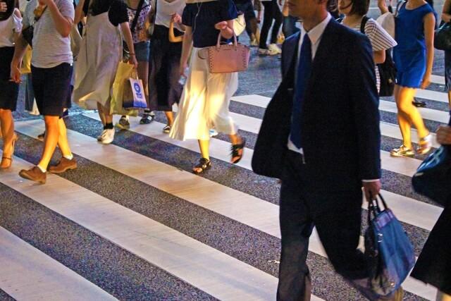 大阪の雑踏